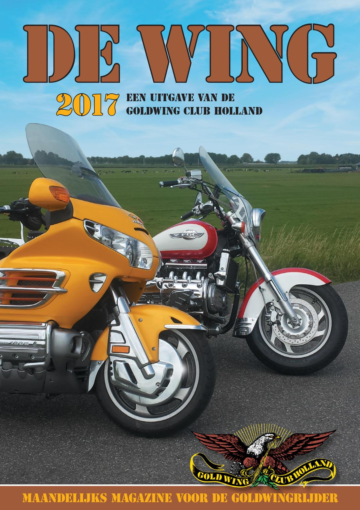 Goldwing Club Holland - Digi Wing beschikbaar